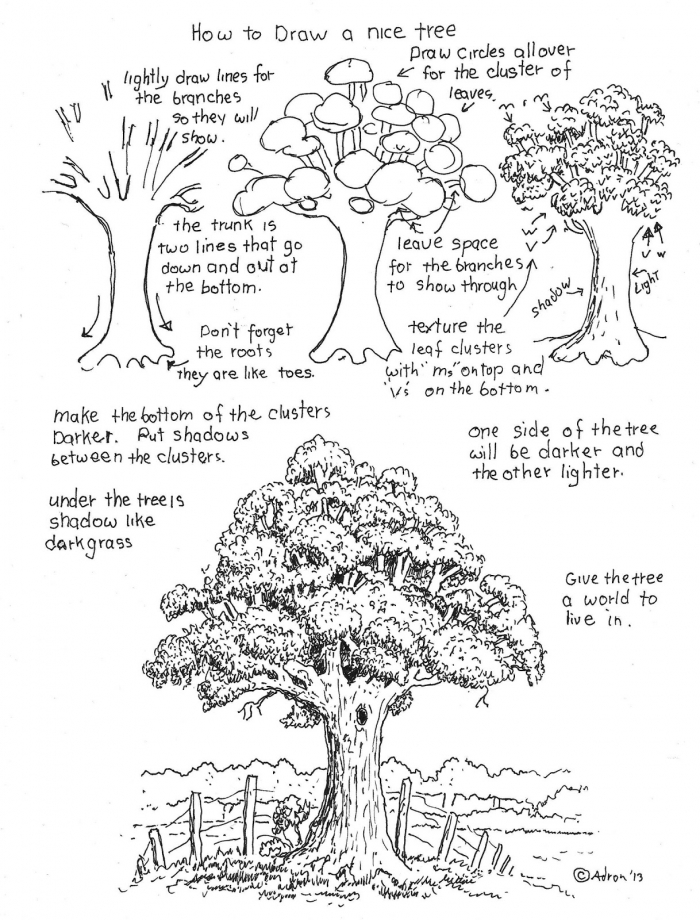 How To Draw Worksheets For The Young Artist How To Draw A Nice