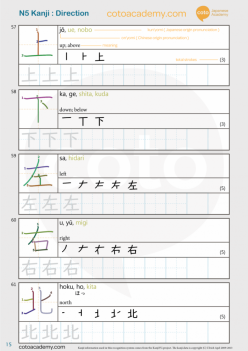 Japanese: Kanji