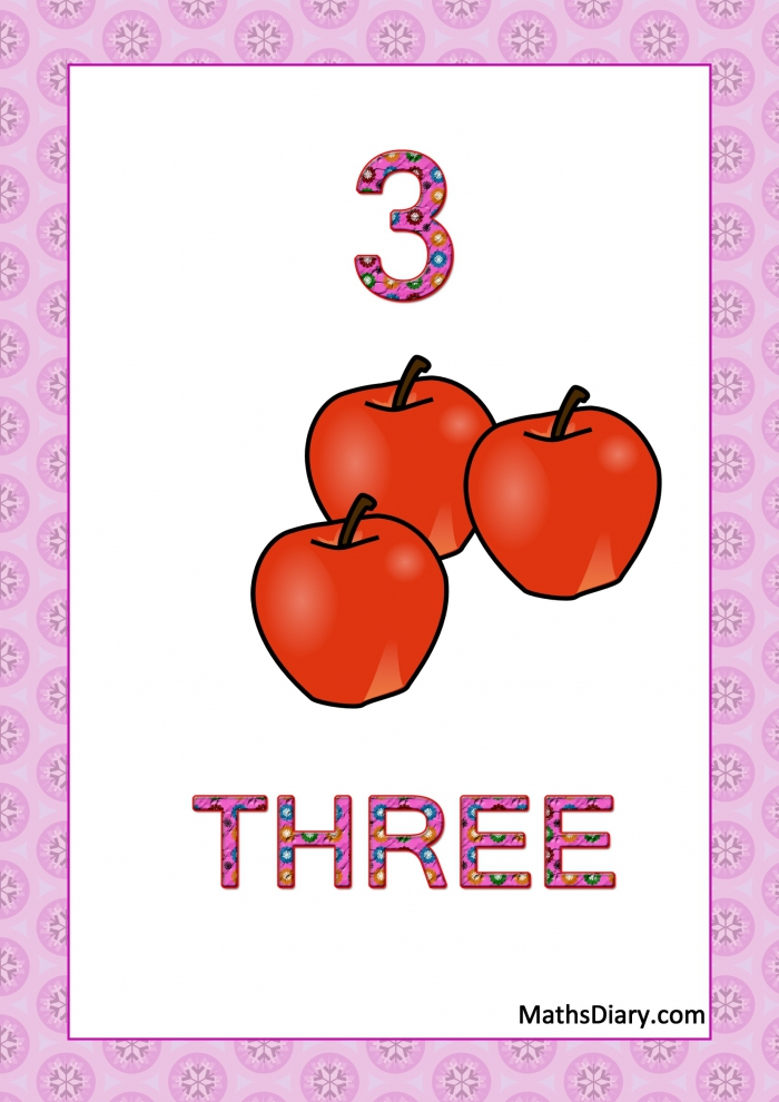 Learning Counting And Recognition Of Number  Worksheets  Level