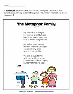 Metaphor And Simile Search