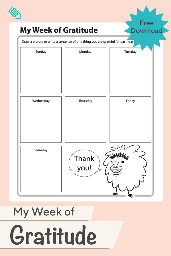 My Week Of Gratitude