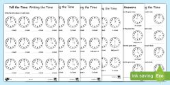 Telling Time: My Day