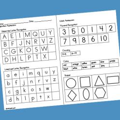 Preschool Pattern Assessment