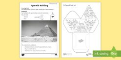 Egyptian Pyramid Model