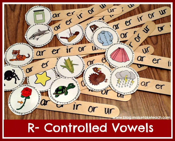 R Controlled Vowels