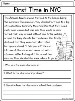 Reading Comprehension: Problem And Solution 1