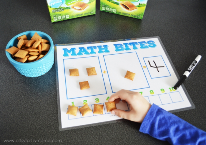 Teach Your Child Addition At Snack Time