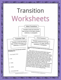 Narrative Transition Words And Phrases