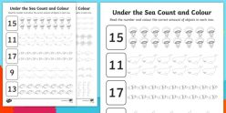 Count 'N Color: The Numbers 11-20