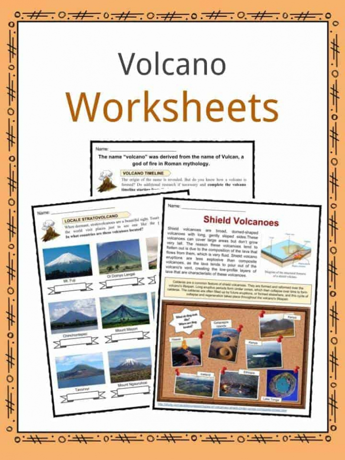 Volcano Fun Facts  Worksheets   Interesting Information For Kids