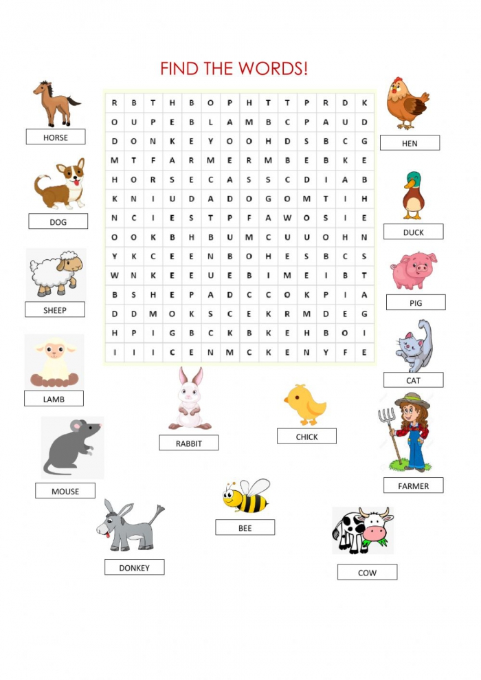 Word Search Zsciencez Exercise