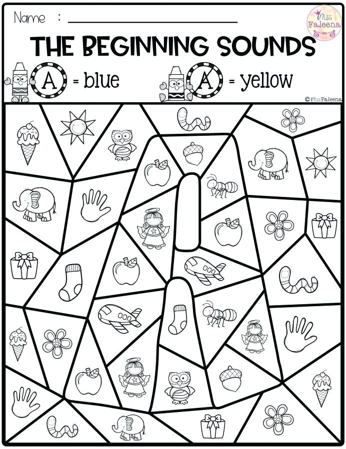 Worksheet Phonemic Awareness Initial Sounds Worksheets Free Simple