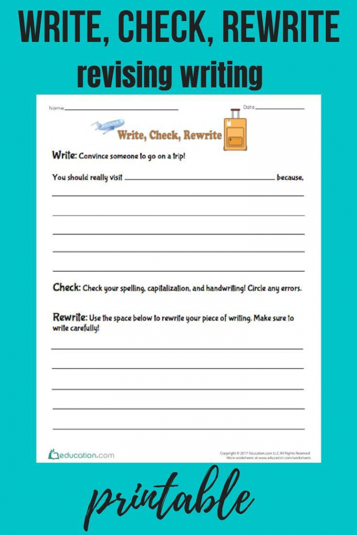 Write  Check  Rewrite