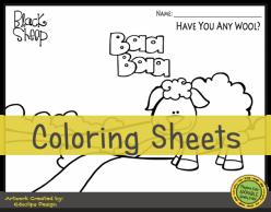 Find The Letter A: Baa, Baa Black Sheep