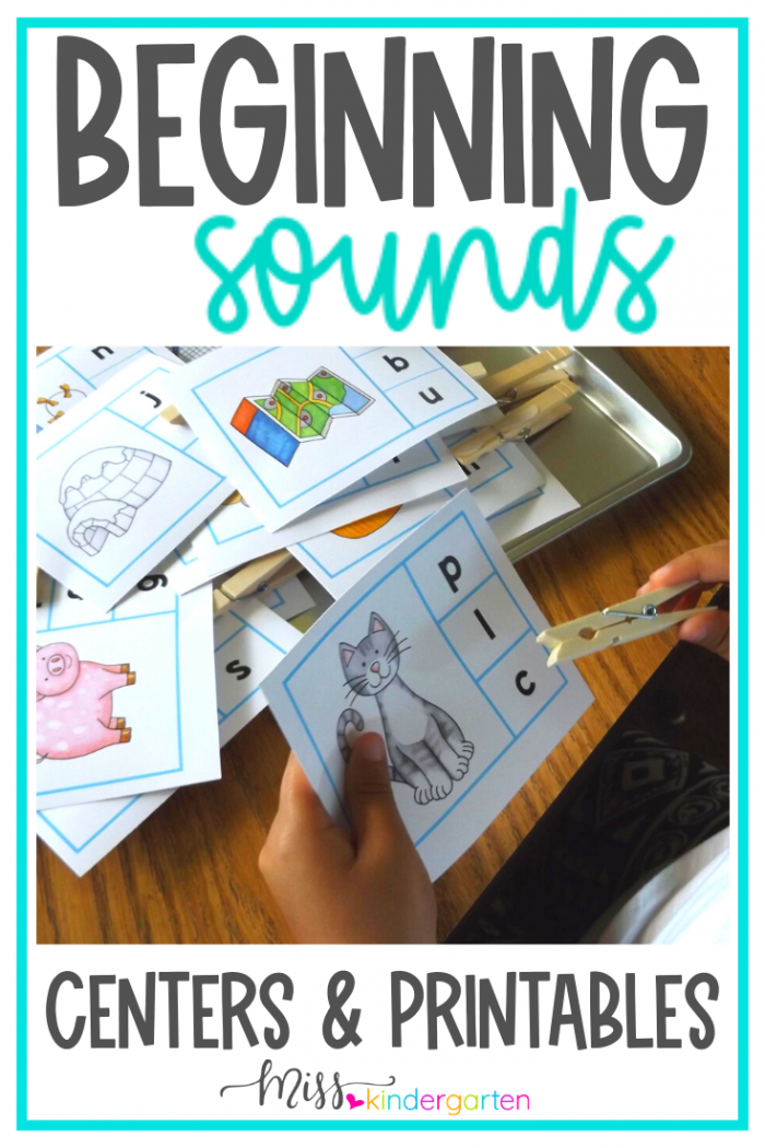 Beginning Sounds Worksheets And Activities