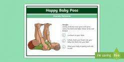 Yoga For Kids: Happy Baby Pose