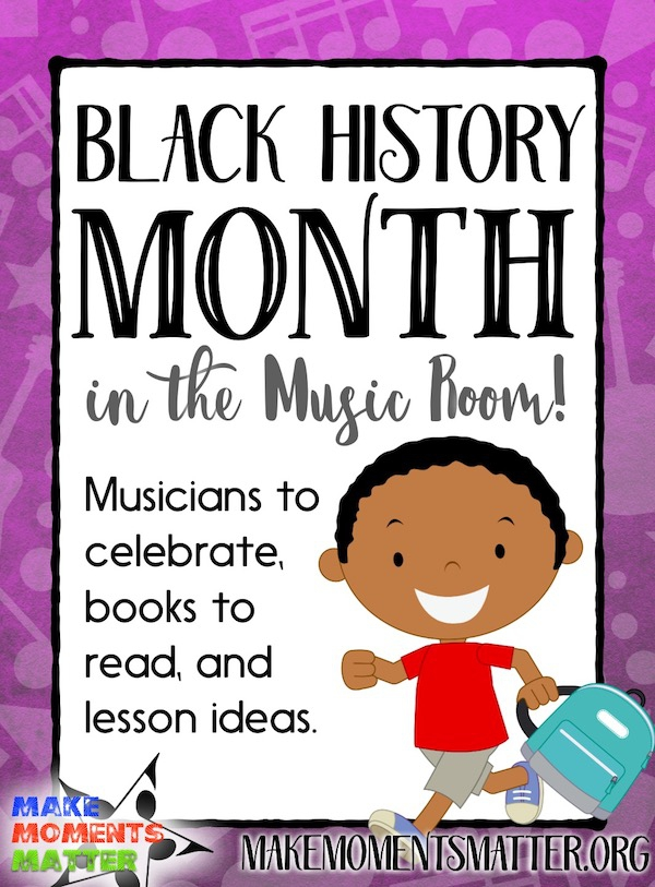 Black History Month In The Music Room
