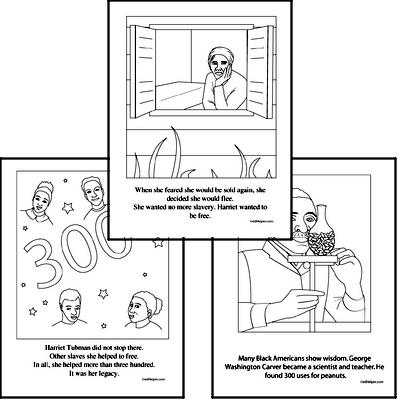 Black History Worksheets And Reading Comprehension