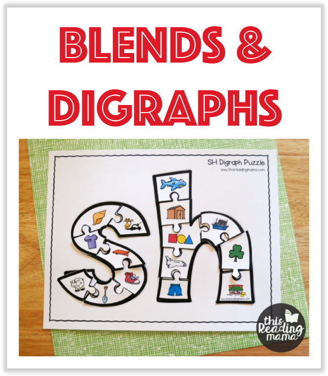 Blends And Digraphs Printables