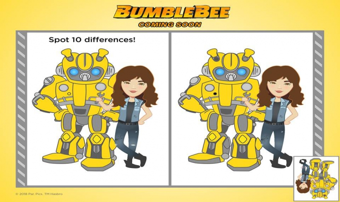 Bumblebee Movie Official Coloring  Activity And Papercraft Sheets