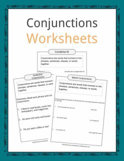 Using Conjunctions To Connect Facts