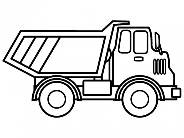 Dump Truck Coloring Bestofcoloring Home Worksheet Jtxprzbc