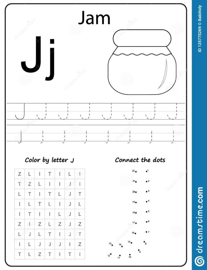 Fantastic Letter J Preschool Worksheets Image Inspirations Free