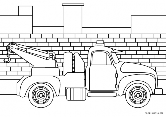Free Grave Digger Coloring Page Monster Truck Fire Tow Ice Cream