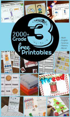 free rd grade worksheets 7
