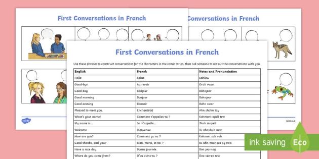 French Greetings Worksheet  Worksheet Teacher Made