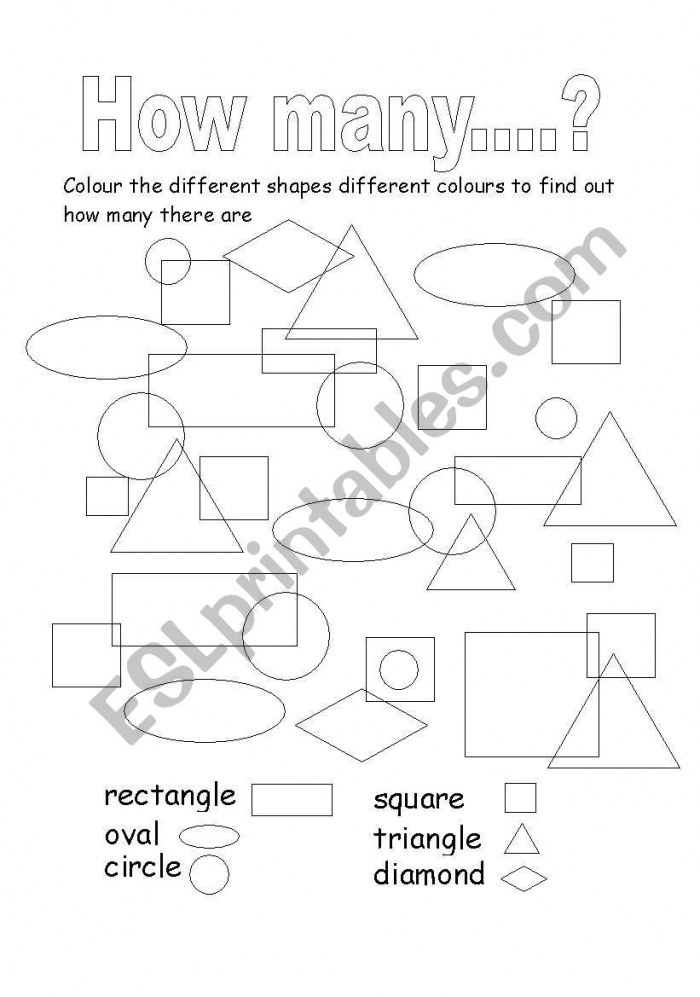 How Many Shapes Are There