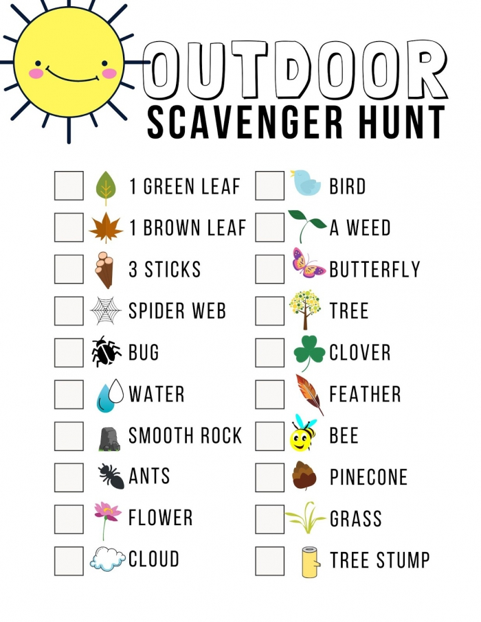 Of The Best Scavenger Hunt Ideas For Family Fun With Free