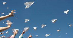 Paper Airplane Pig