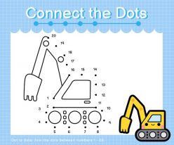 Connect The Dots: Excavator