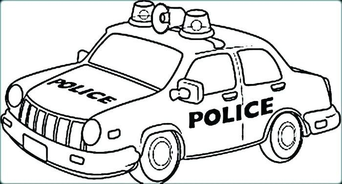Printable Cars Coloring Pages For Kids