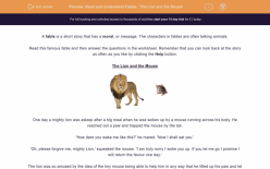 Punctuation: The Lion And The Mouse