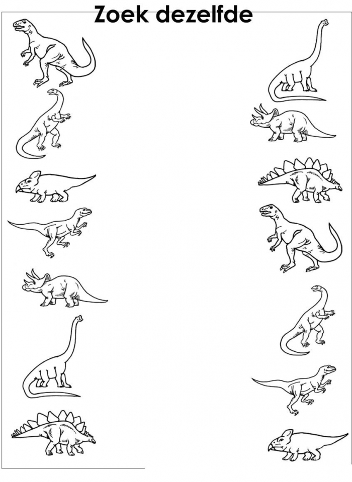Remarkable Dinosaurs Worksheets Preschool Picture Inspirations