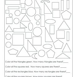Practice Test: Simple Shapes And Fractions