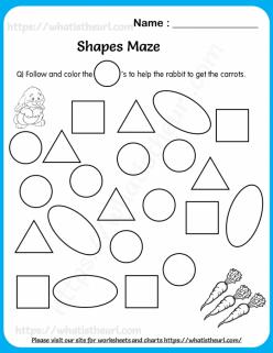 Shapes Maze