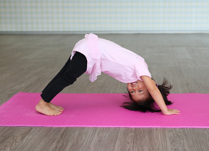 Simple Yoga Moves For Toddlers