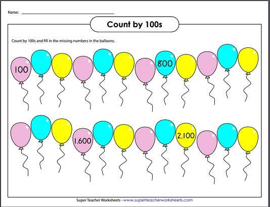 Skip Counting By