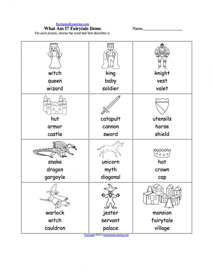 Spelling Worksheets Kings  Queens  And Castles K