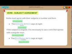 It S Grammar Time: Subject-Verb Agreement 3