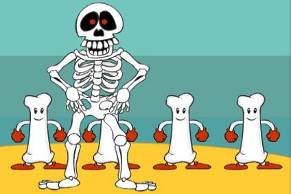 The Scary Skeleton