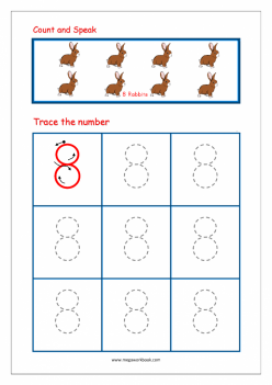 Tracing Numbers And Counting: 8