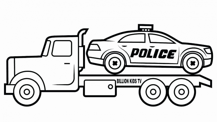 Transportation Coloring Pages Pdf Beautiful Inspirational Police