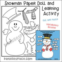 Make A Paper Doll: Lunch Hero