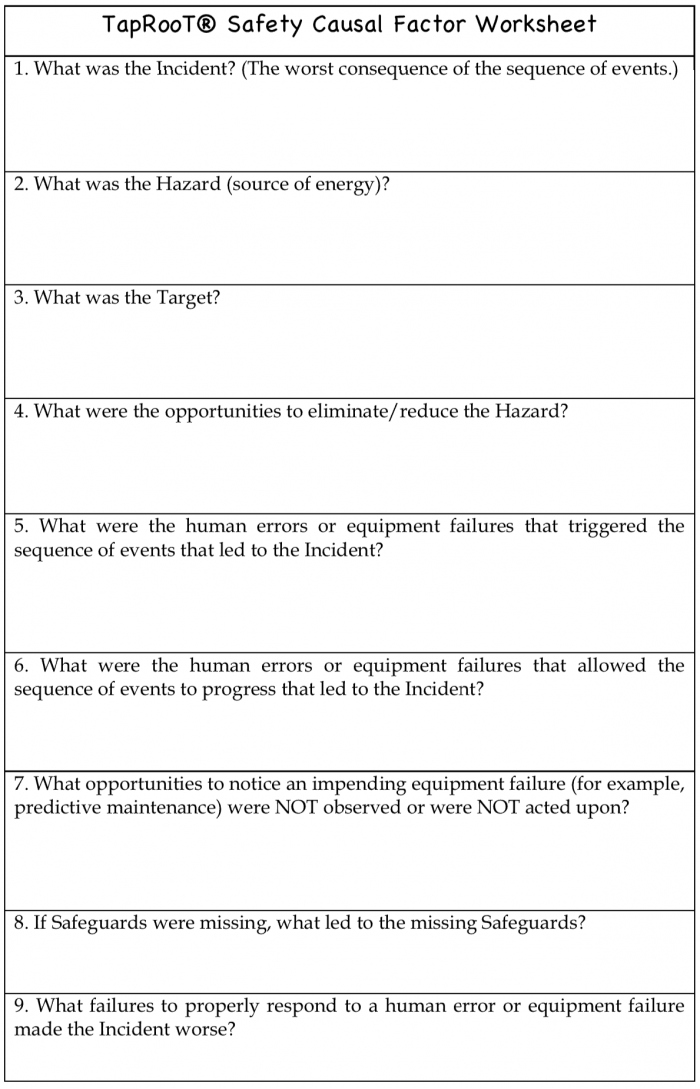 You Need To Learn About The New Causal Factor Worksheets