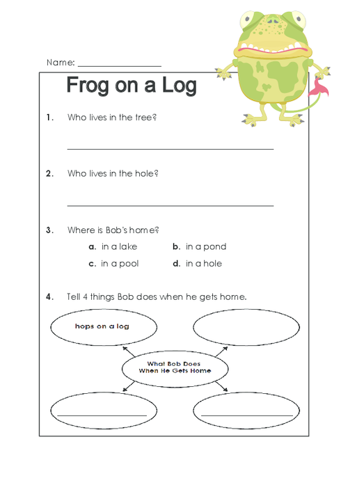 Frog On A Log Question