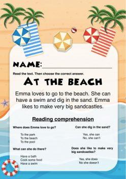Beachy Word Problems